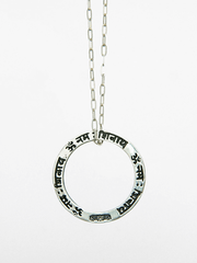 Eternal Bliss Spiritual necklaces Shiva Mantra Pendant