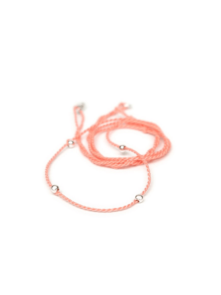 Chakra Necklace Pendant Cord - Flamingo Pink - Eternal Bliss - £20.00