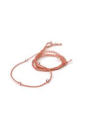 Chakra Necklace Pendant Cord - Terracotta - Eternal Bliss - £20.00