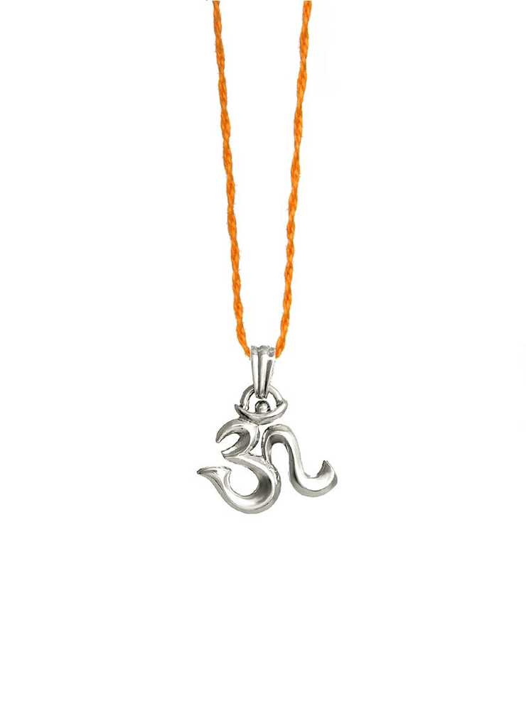 Eternal Bliss Spiritual necklaces Silver OM Mini Pendant