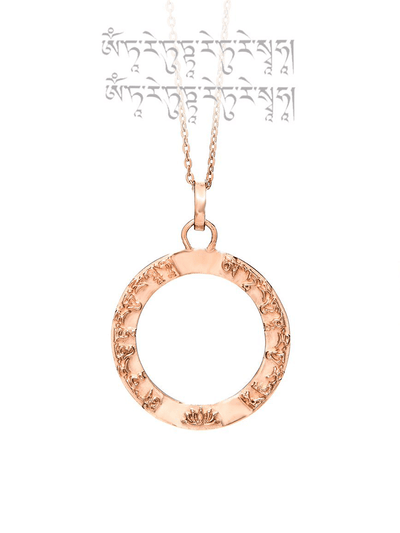 Eternal Bliss Spiritual necklaces Tara Mantra Pendant
