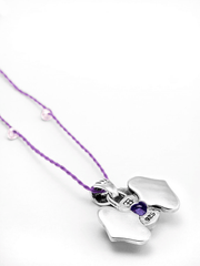 Eternal Bliss Spiritual necklaces Third Eye Chakra with Amethyst Pendant