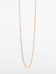 Eternal Bliss Spiritual necklaces Two-Tone Anchor Chain - Silver/Gold