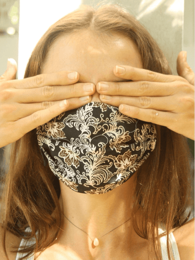 Free Spirit Face Masks Multi Organic Cotton Face Mask - Indra