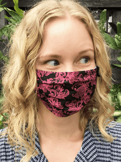 Organic Cotton Face Mask - Kali - Free Spirit - £7.95