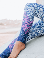 Eco Recycled Leggings - Alhambra Print - Free Spirit - £69.00