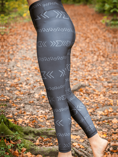 Free Spirit Pants & Leggings Eco Recycled Leggings - Zanzibar Print