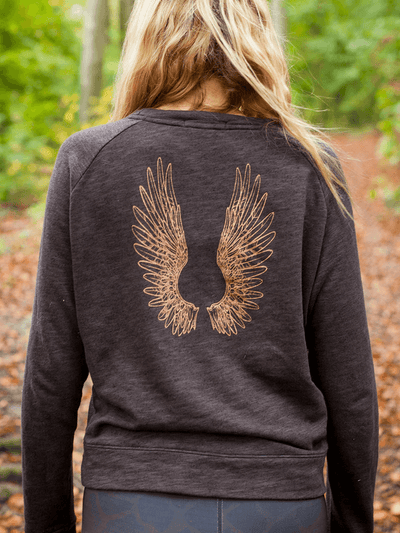Free Spirit Sweaters Angel Wings Sweater - 100% Cotton