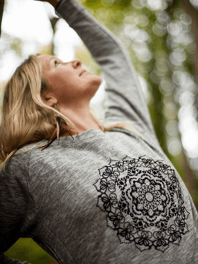 Isha Mandala Sweater - 100% Cotton - Free Spirit - £55.00