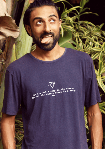 Free Spirit T-Shirts Drop in the Ocean T-Shirt - Organic Cotton Bamboo