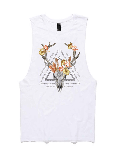 Free Spirit Tanks Kudu Lotus Tank - Organic Cotton Bamboo