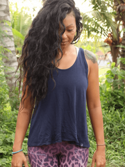 Twist Back Top - Organic Cotton Bamboo - Free Spirit - £32.00