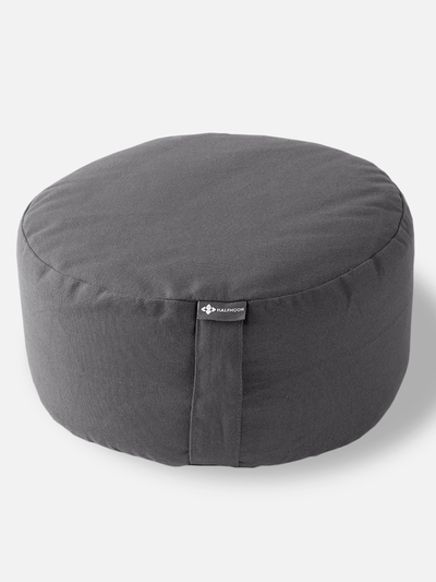 Halfmoon Round Meditation Cushion – Sleek Lines, Modern Colours - Halfmoon - £55.00