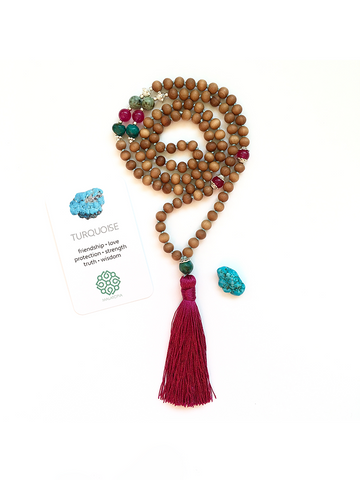 Heave + Earth Mala Necklace