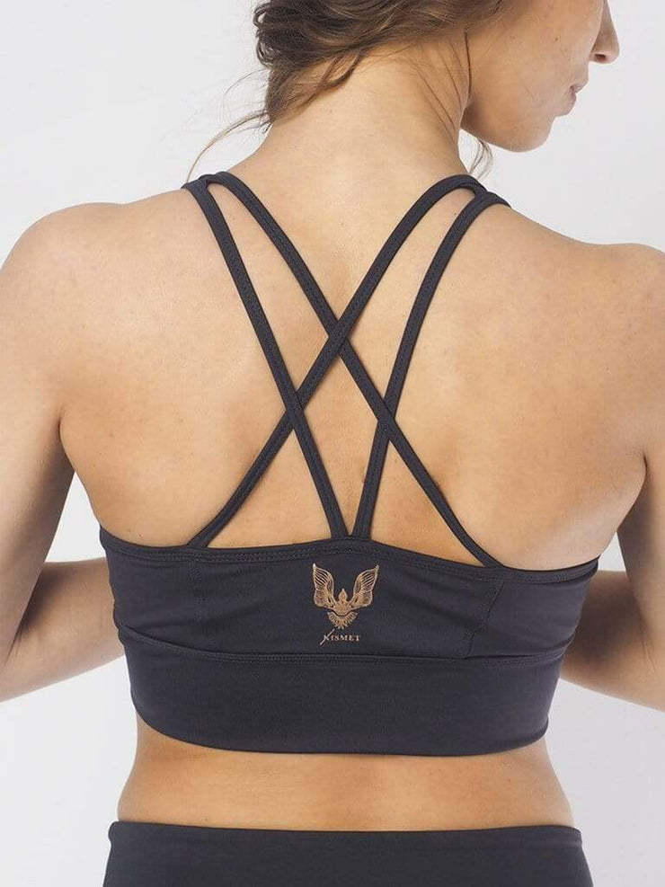 KISMET Bra Tops Grey / X Small Radha Yoga Bra Top
