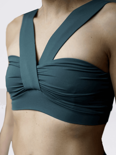 KISMET Bra Tops Sunita Yoga Bra Top - Dark Olive
