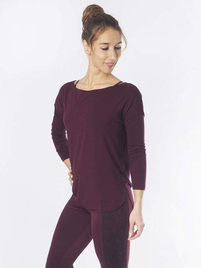 KISMET Long Sleeve Tops Aila Yoga Top