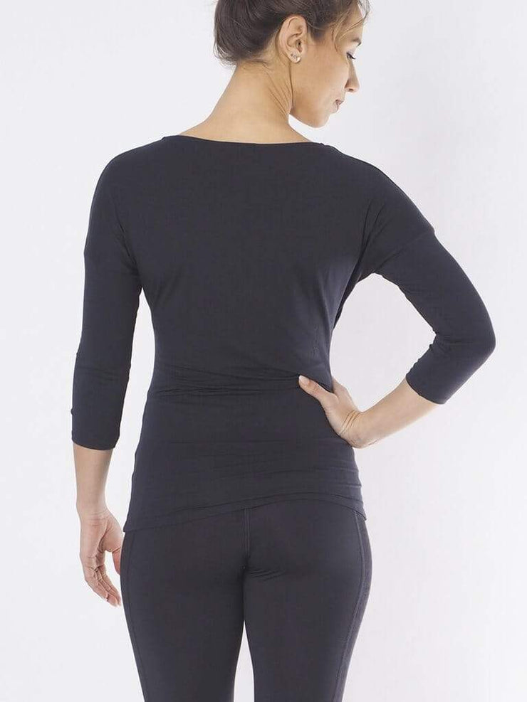KISMET Long Sleeve Tops Yoga Top Indra - Anthracite