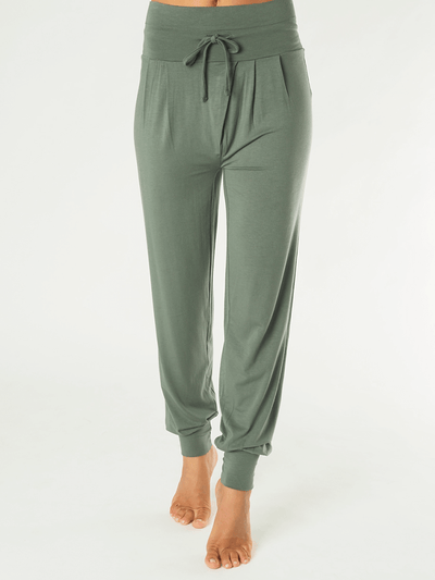 KISMET Pants & Leggings Green / X Small Padmini Yoga Pant