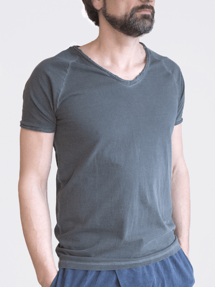 KISMET T-Shirts Agni Yoga T-Shirt - Denim Wash