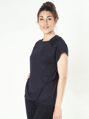 KISMET T-Shirts Grey / X Small Jiva Yoga Top