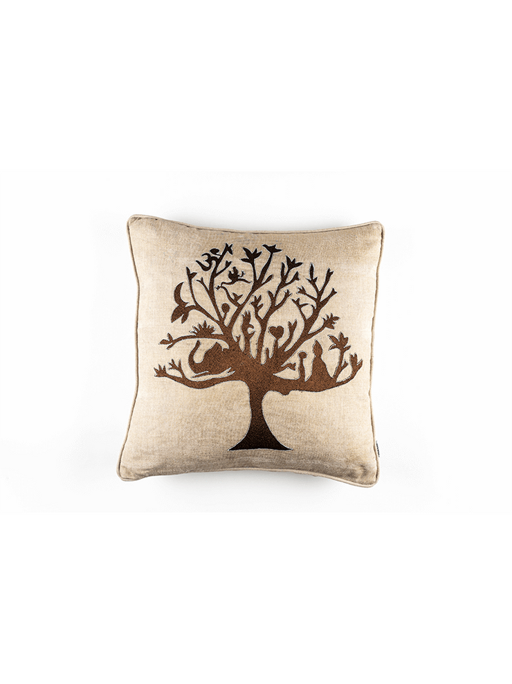 Kleem Decorative Cushions The Tree of Life Cushion Cover : Buy 2 Get Third Free