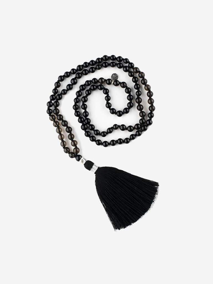 Kleem Mala necklaces Black Mala of Deep Grounding