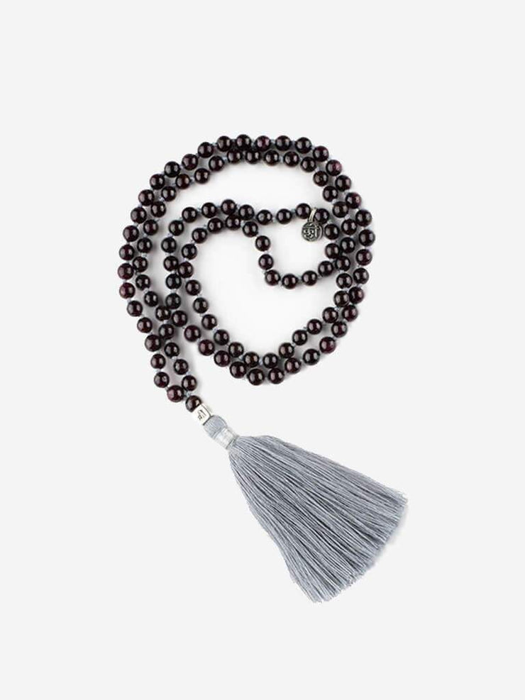 Kleem Mala necklaces Black Mala of Self Commitment