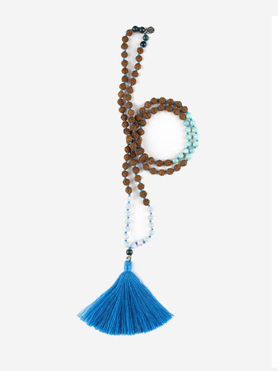 Kleem Mala necklaces Blue Neel-Kantha Mala - Throat Chakra
