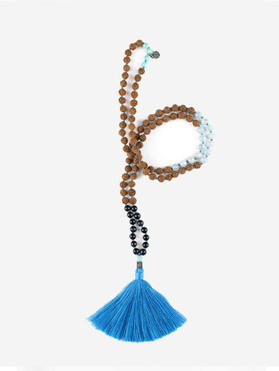 Kleem Mala necklaces Blue Som-Natha Mala - Throat Chakra