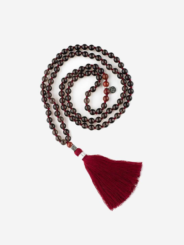 Kleem Mala necklaces Grey Mala of Protection