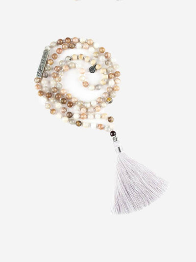Kleem Mala necklaces Multi Radha Krishna Mala with Krishna Mantra Bar