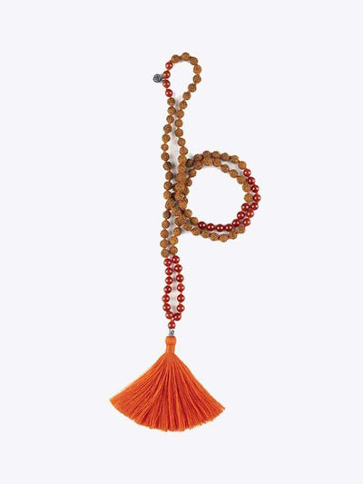 Kleem Mala necklaces Orange Ajaa Mala - Sacral Chakra