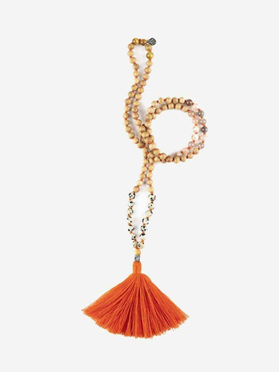 Kleem Mala necklaces Orange Pratibha Mala (Creativity) - Sacral Chakra