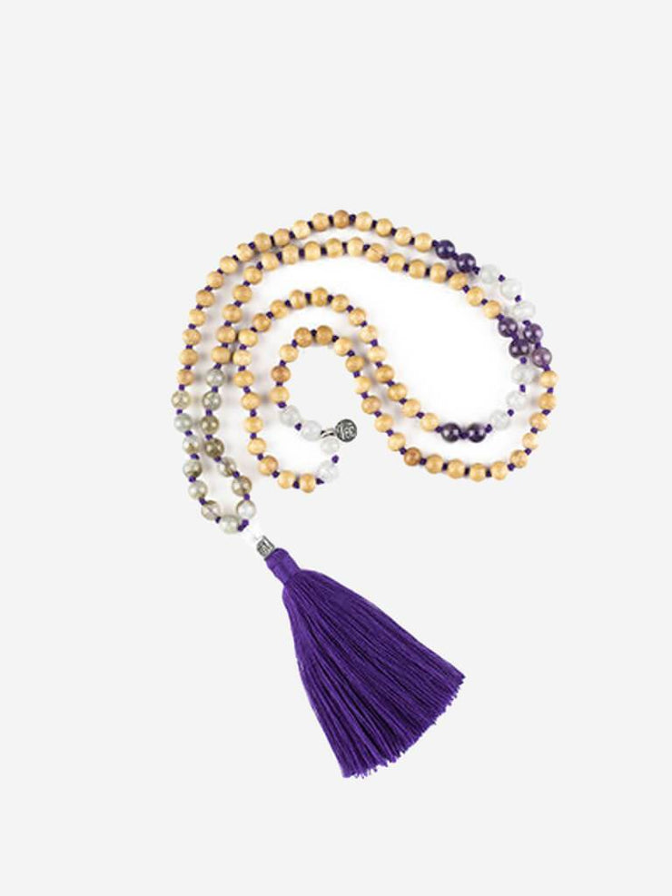 Kleem Mala necklaces Purple Nira Kula Mala (Calmness) - Crown Chakra