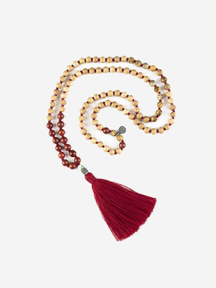 Kleem Mala necklaces Red Bhumi Mala (Earth) - Base Chakra
