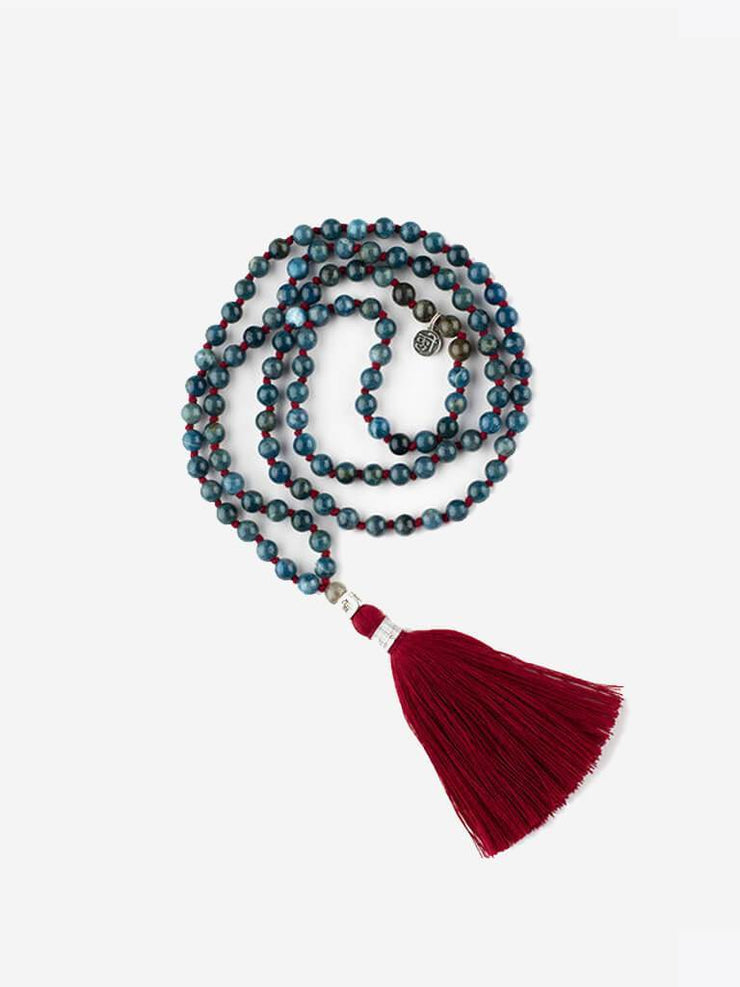 Kleem Mala necklaces Red Mala of Manifestation