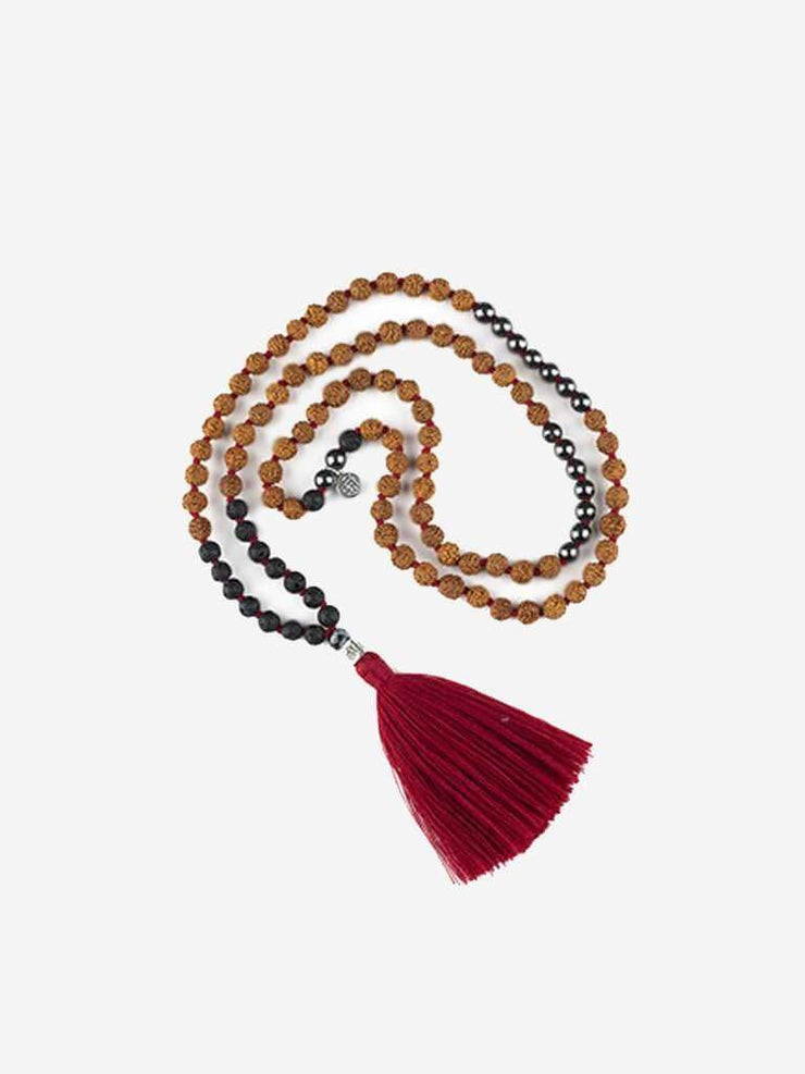 Kleem Mala necklaces Red Rudra Mala - Base Chakra