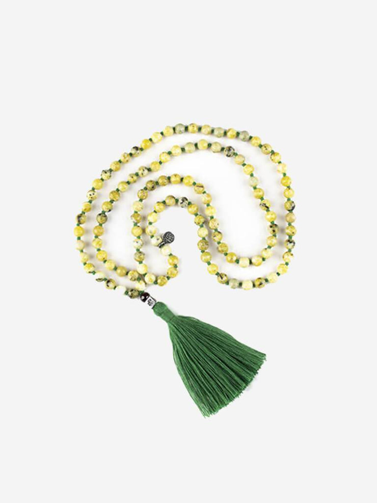 Kleem Mala necklaces Yellow Mala of Progression