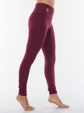Satya Yoga Leggings - Deep Cherry - Urban Goddess - £69.95