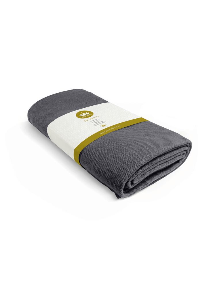 Lotuscrafts Blankets Grey Savasana Yoga blanket