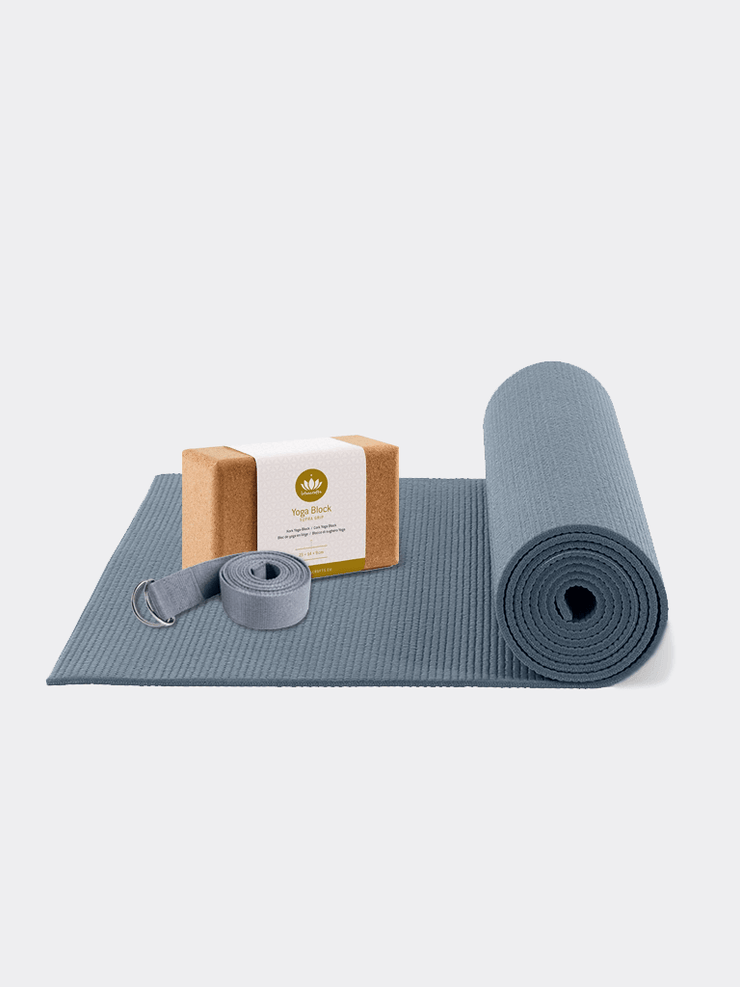 Lotuscrafts Mat Bundles Blue / Standard Beginners Yoga Bundle