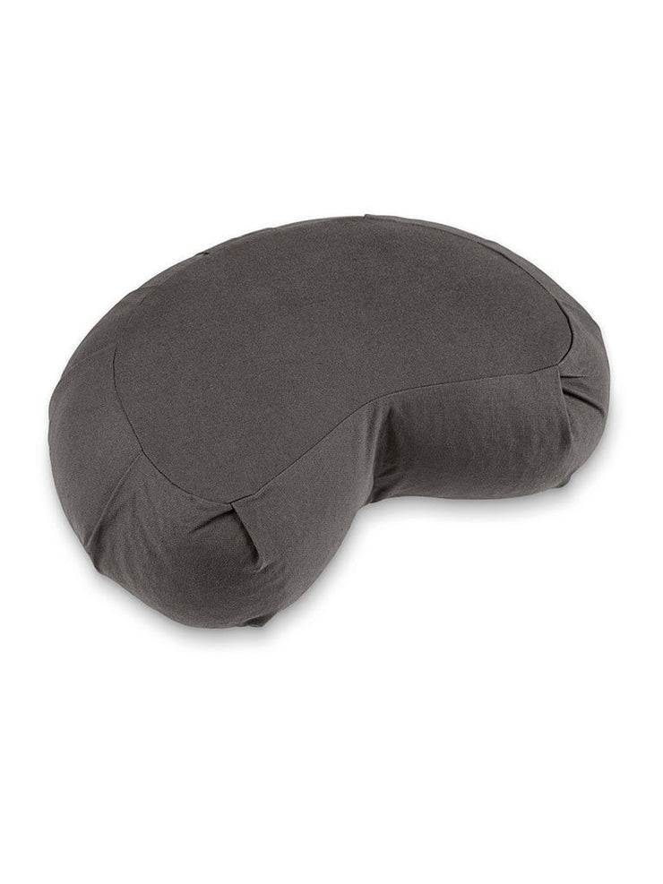 Lotuscrafts Meditation Cushions Grey Crescent-Zafu Meditation Cushion SIDDHA - Anthracite