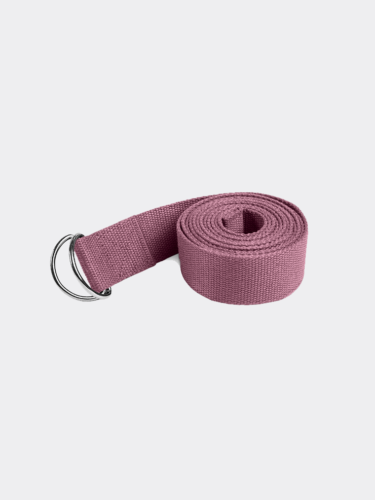 Lotuscrafts Straps / Belts Purple Yoga Belt - Aubergine