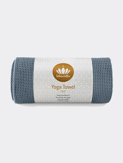 Grip Yoga Towel - Lotuscrafts - £27.95