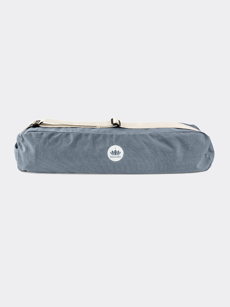Lotuscrafts Yoga Mat Bags Grey Yoga Mat Bag PUNE - Cornflower
