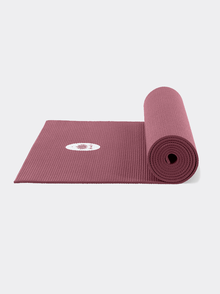 "Lotuscrafts Yoga Mats Purple Yoga Mat ""Mudra"" Studio Extra Long - Aubergine"