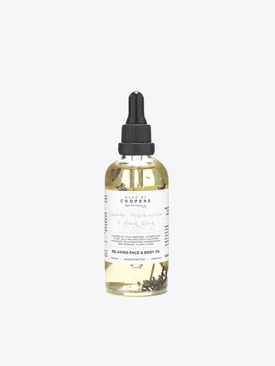 Made by Coopers Body Oil Relaxing Body Oil - Lavender, Frankincense & Ylang Ylang