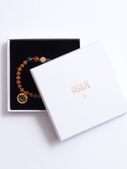 Healing Intentions 7 Gemstone and Sandalwood Chakra Bracelet - YogaClicks - £40.00
