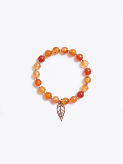 Healing Intentions Carnelian Sacral Chakra Bracelet - Made By Yogis - £45.00